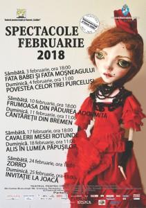 afis spectacole februarie 2018_Colibri
